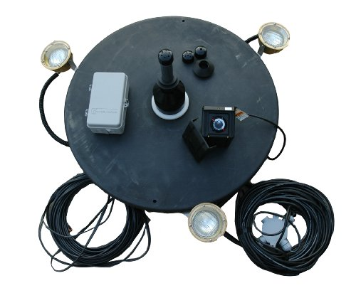 Outdoor Water Solutions Ftn0145 1 Hp Fountain 110-Volt With Lights