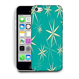 Snoogg Green Pattern Printed Protective Phone Back Case Cover For Apple Iphone 6+ / 6 Plus