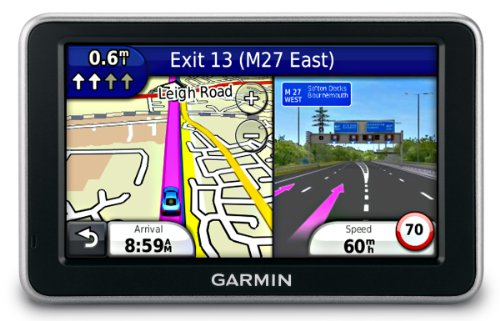 Garmin Nuvi 2460LMT Widescreen Satellite Navigation System with Lifetime Traffic  &  Map Subscription with street maps for Full Europe (45 countries) - 5 inch