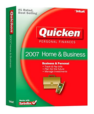 Quicken Home & Business 2007 [OLDER VERSION]