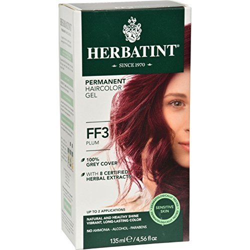 Flash Fashion Plum 4.16 oz ( 5 Pack) by Herbatint