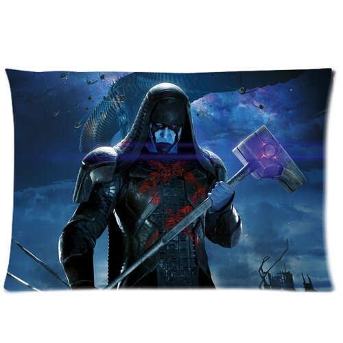 "Chetery popolare Accuser Ronan ""Guardians of The Galaxy"", ottima idea regalo per gli amici Romantic Valentines Gift Idea regalo Decorative Pillowcase Custom Pillowcase, Federa per cuscino, con zip, spazioso, 20 x 30 cm, due laterali) """