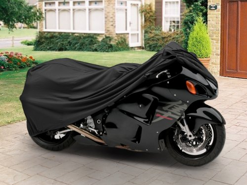 SUPERIOR TRAVEL DUST MOTORCYCLE SPORT BIKE COVER COVERS : FITS UP TO LENGTH 90