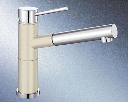Blanco Alta-S Compact Jasmin Beige Hochdruck Küchen-Armatur Einhebelmischer