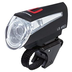 trelock fahrradbeleuchtung ls 450 frontscheinwerfer black test sonderangebote batterielampen. Black Bedroom Furniture Sets. Home Design Ideas
