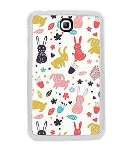 Cute Design 2D Hard Polycarbonate Designer Back Case Cover for Samsung Galaxy Tab 3 8.0 Wi-Fi T311/T315, Samsung Galaxy Tab 3 8.0 3G, Samsung Galaxy Tab 3 8.0 LTE
