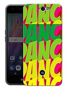 "Dance Dance Retro Pattern Printed Designer Mobile Back Cover For ""Google Infocus M812"" By Humor Gang (3D, Matte Finish, Premium Quality, Protective Snap On Slim Hard Phone Case, Multi Color)"