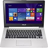 Asus VivoBook Q301LA-BHI5T02 13.3 Touchscreen Notebook with Intel Core i5 4200U (1.60GHz) 4GB Memory 500GB HD, Windows 8