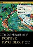 img - for The Oxford Handbook of Positive Psychology (Oxford Library of Psychology) book / textbook / text book