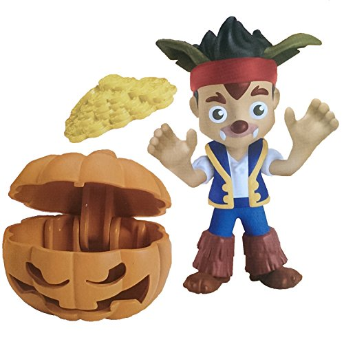 Jake and the Neverland Pirates Halloween Jake Werewolf with Pumpkin Treasure Chest and Gold Doubloon Coins