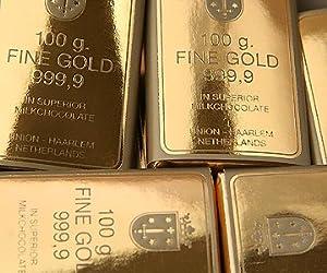 Chocolate Gold Bars x 50