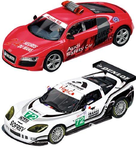 Imagen principal de Carrera 20025180 EVOLUTION Le Mans - Circuito con dos vehículos a escala 1:32 [Importado de Alemania]