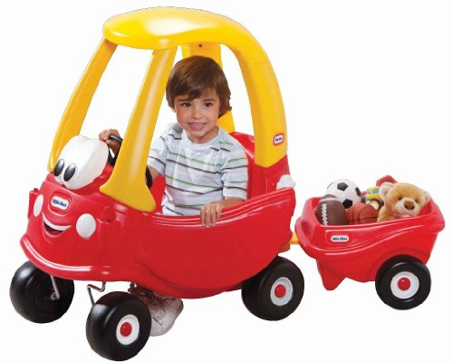 Best Little Tikes Toys : Little tikes cozy coupe with trailer best deals toys
