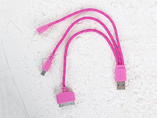 Salvador Bachiller - Câble 3-en-1 - Tecnologia CAB-3H - Framboise