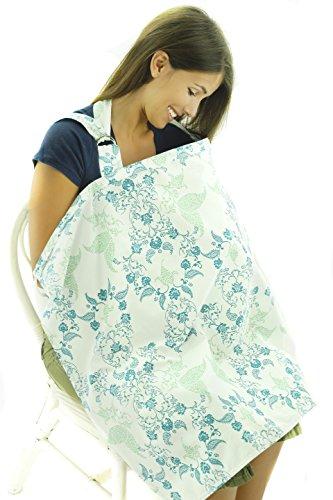 enfermeria-lactancia-materna-juego-de-ropa-de-cama-algodon-transpirable-delantal-blanco-blue-green-v