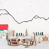 Meri Meri Wooden Train Advent Building Kit