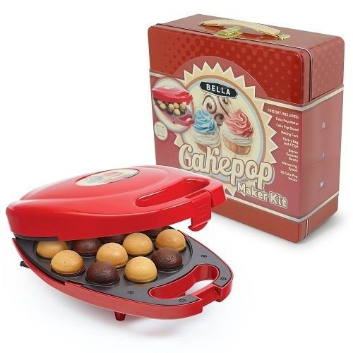 New Shop New Bella 13823 Cake Pop Maker Tin Box Set, ~ 3 Piece Set Bakes In 3/5Minutes