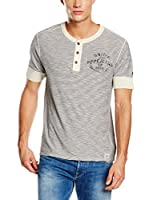 Pepe Jeans London Camiseta Manga Corta Waley (Crema)