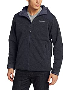 Columbia Men's Grade Max Hooded Jacket, Abyss, X-Large