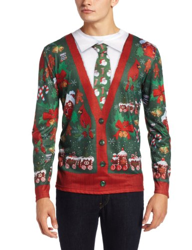 Ugly Xmas Cardigan Sweater Christmas Costume