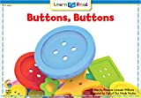 Buttons Buttons (Learn to Read, Read to Learn: Science)
