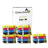 20 XL ColourDirect Compatible Ink Cartridges Replacement For Epson Stylus S22 SX125 SX130 SX230 SX235W SX420W SX425W SX430W SX435W SX438W SX440W SX445W BX305F BX305FW Plus Printers 5 Black 5 Cyan 5 Magenta 5 Yellow