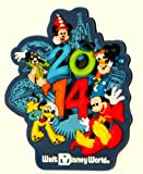 Walt Disney World WDW Parks Exclusive 2014 Characters Rubber Magnet Mickey Goofy Pluto Minnie NEW Bonus Dumbo Dollar