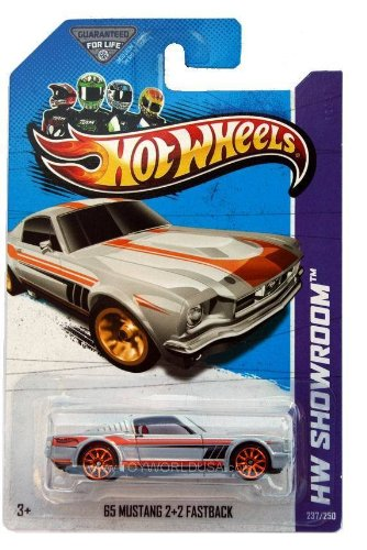 2013 Hot Wheels Hw Showroom 65 Mustang 2+2 Fastback 237/250