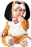 InCharacter Unisex-baby Infant Puppy Costume, Tan/White/Black, Medium