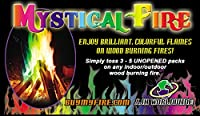 Mystical Fire 50-Pouch Flame Fire Colorant by Mystical Fire