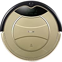 Haier SWR-T321 Pathfinder Vacuum Cleaner Robot (US Plug, Golden)