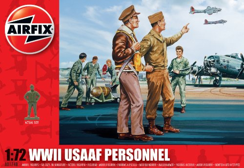 Airfix A01748 1:72 Scale USAAF Personnel