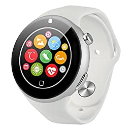 Aiwatch C5 Universal Smartwatch with Sim Card Slot - White