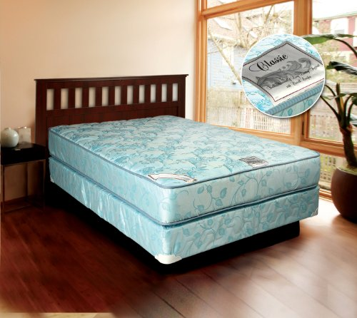 Best Deals! Comfort Classic Gentle Firm Full Size Mattress And Box Spring
