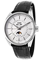 Oris Artix Complication Mens Full Calendar Leather Strap Watch 91576434051LS