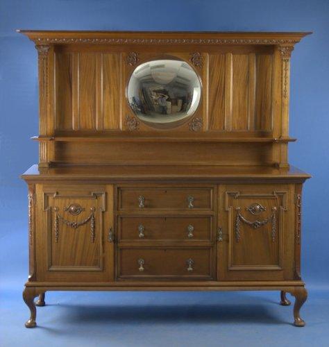 Cheap Antique English Mahogany Sideboard (B00417RTIO)