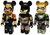 BE@RBRICK WATCHMEN 3pack set A