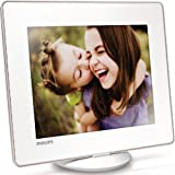 Philips SPH8428 Digitales Photo Book Bilderrahmen (20,3 cm (8 Zoll) Display, 4:3, 1 GB interner Speicher, Multislot Kartenleser) wei�