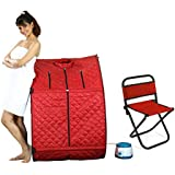 Kawachi Portable Therapeutic Steam And Home Sauna Bath For Weight Loss And Folding Outdoor Fishing Camping Chair...