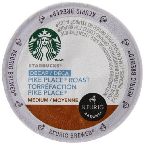 Starbucks Decaf Pike Place Roast, K-Cup for Keurig Brewers, 24 Count (Keurig Capsules Starbucks compare prices)