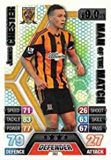 Match Attax 2013/2014 James Chester Hull City 13/14 Man Of The Match
