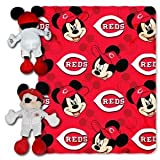MLB Cincinnati Reds 40x50-Inch Throw with 14-Inch Hugger