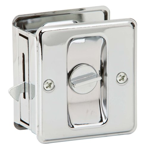 Ives by Schlage 991B26 Sliding Door Pull (Chrome Pocket Door Lock compare prices)