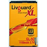 LivGuard GL-5C XL Replacement Battery For Nokia BL-5c.
