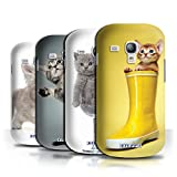 STUFF4 Phone Case / Cover for Samsung Galaxy S3 Mini / Multipack / Cute Kittens Collection
