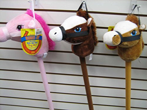 29″ Stick Horse Giddy-up and Go Pony w/ Real Sound – Pink