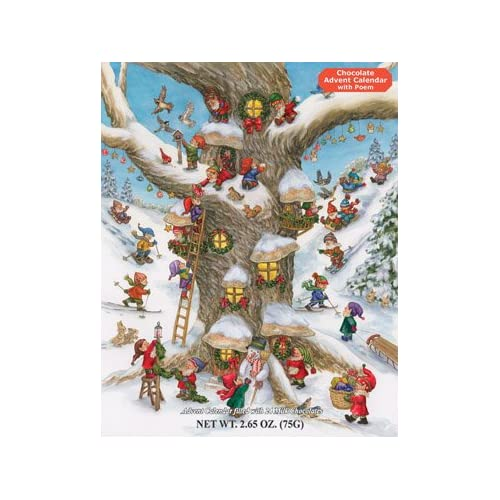 Elf Magic Chocolate Advent Calendar