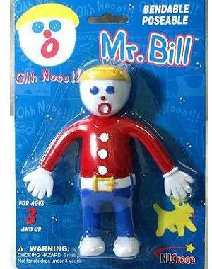 515858BjuhL Cheap Price Nj Croce Mr. Bill Poseable Bendable Doll Figure Toy