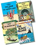 The Adventures of Tintin Paperback Collection 2 - 4 Books RRP £31.96 (The Broken Ear; The Black Island; King Ottokar's Sceptre; The Crab with the Golden Claws) Herge