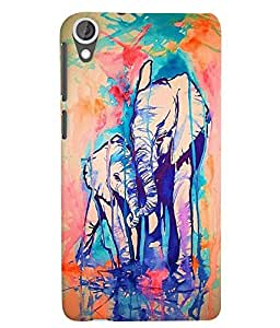 Citydreamz Back Cover For HTC Desire 828|